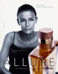 Chanel Allure Campaign in the 1990s