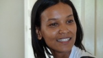 "Liya Kebede, who plays Waris in the movie ""Desert Flower"""