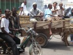 Men on the market place in Djibouti