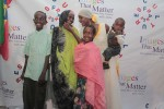 Red carpet with family