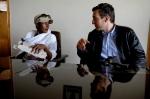 Waris and Felix Ahlers in Addis