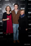 Petrina Dorrington (General Manager MIFF), James Frenchville (well known Australian Actor) & Claire Dobbin (Chairman MIFF)
