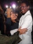 Meeting Salma Hayek at the Stella McCartney Show