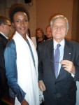 With Jean Claude Trichet, President of the European Central Bank