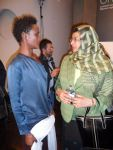 Waris Dirie with Minister Al Busaidi from Oman