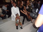 Waris  in the front row at Stella McCartney