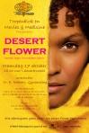 "Flyer ""Desert Flower"" screening in Nijmegen/ Netherlands"
